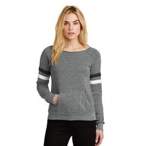 Alternative Apparel Maniac Eco-Fleece Pullover M